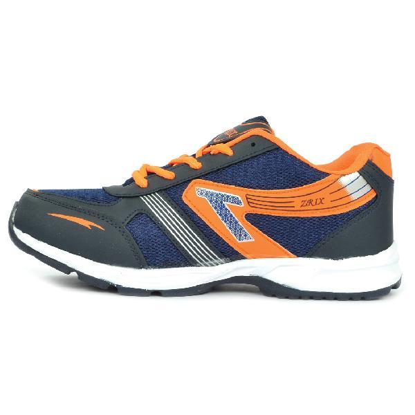 Mens Black & Orange Shoe 06