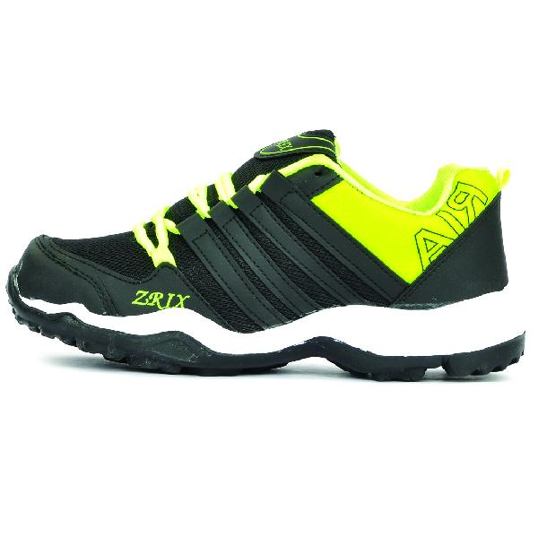 Mens Black & Yellow Shoes 01