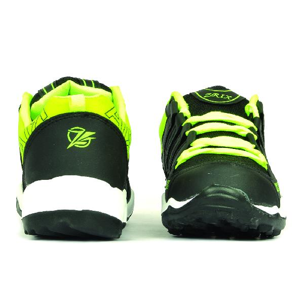 Mens Black & Yellow Shoes 02