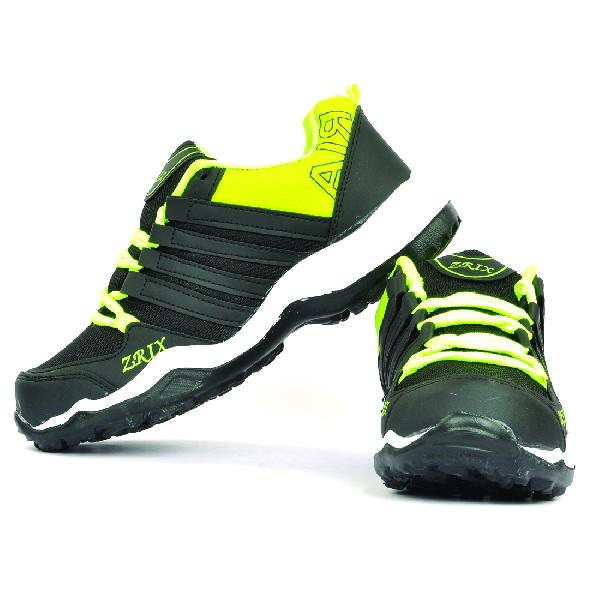 Mens Black & Yellow Shoes 03