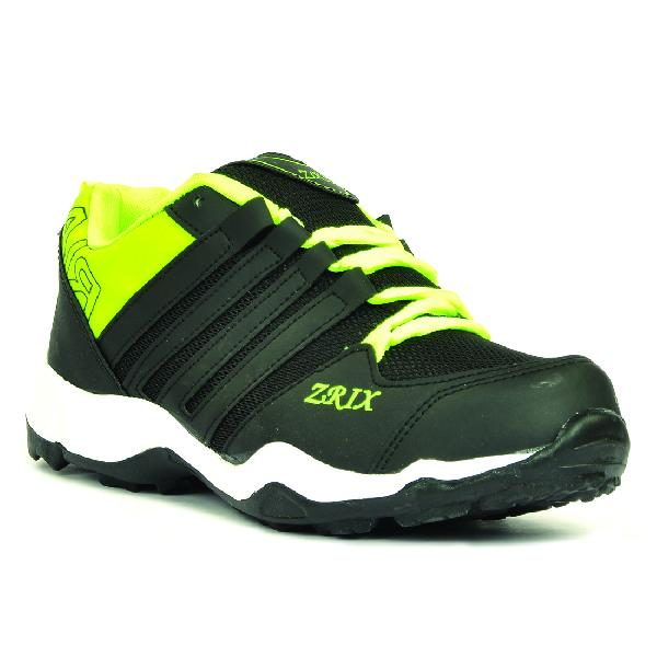 Mens Black & Yellow Shoes 05