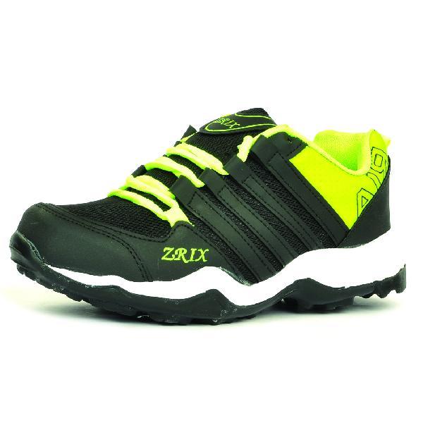 Mens Black & Yellow Shoes 06