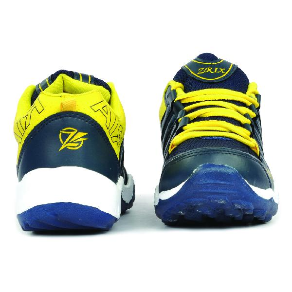 Mens Blue & Yellow Shoes 02