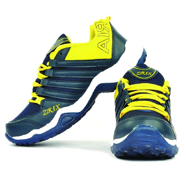 Mens Blue & Yellow Shoes 03
