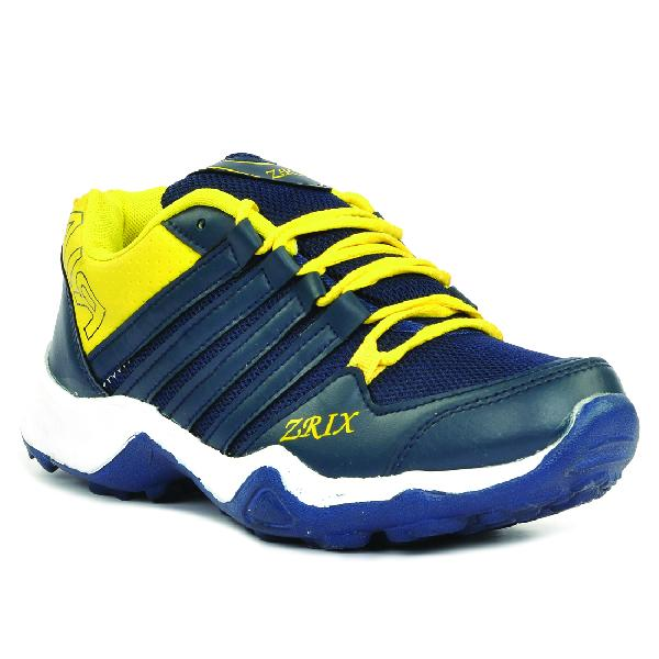 Mens Blue & Yellow Shoes 05