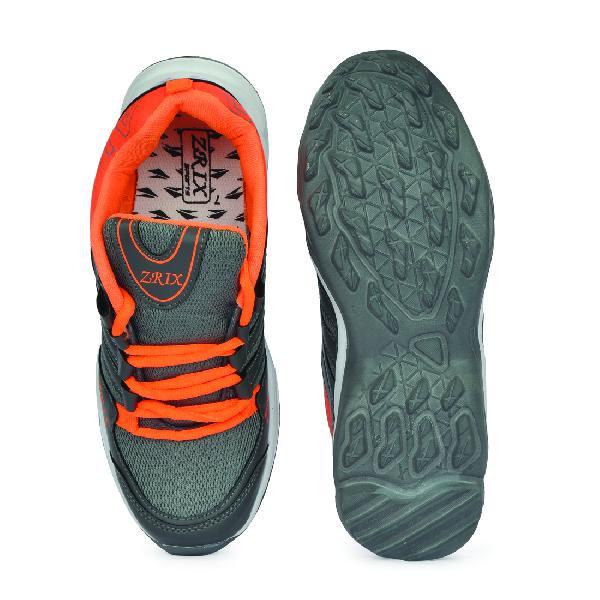 Mens Grey & Orange Shoes 04