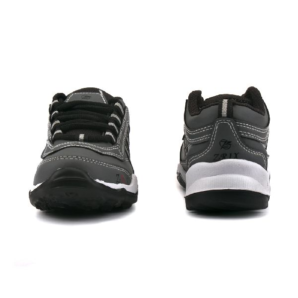 Kids Grey & Black Shoes 02