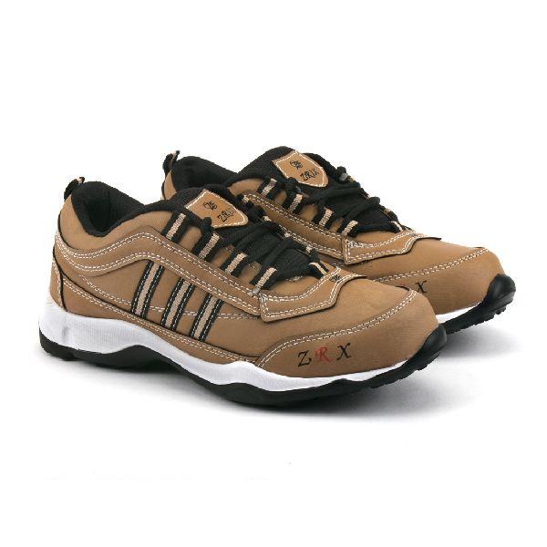 Kids Tan Black Shoes 03