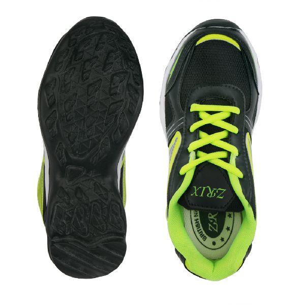 Kids Black P Shoes 05