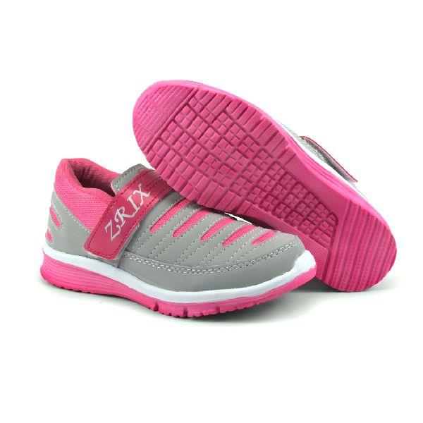 Ladies Grey & Pink Shoes 04