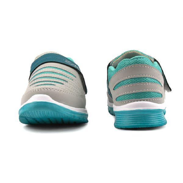 Ladies Grey & Sea Shoes 02