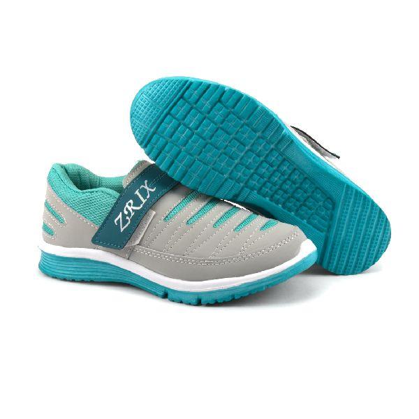 Ladies Grey & Sea Shoes 04
