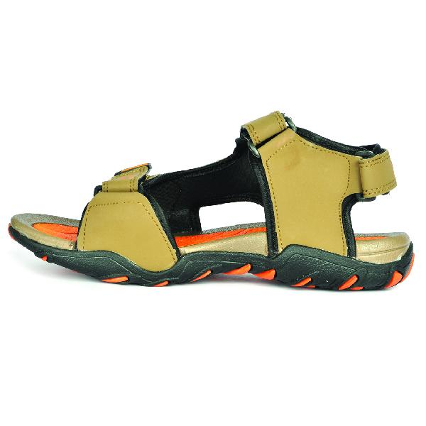 SDZ 101 Mens Mouse & Orange Sandals 01