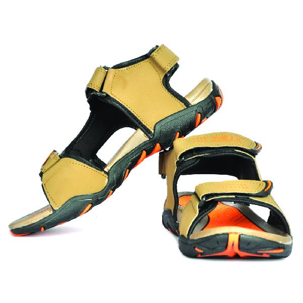 SDZ 101 Mens Mouse & Orange Sandals 02