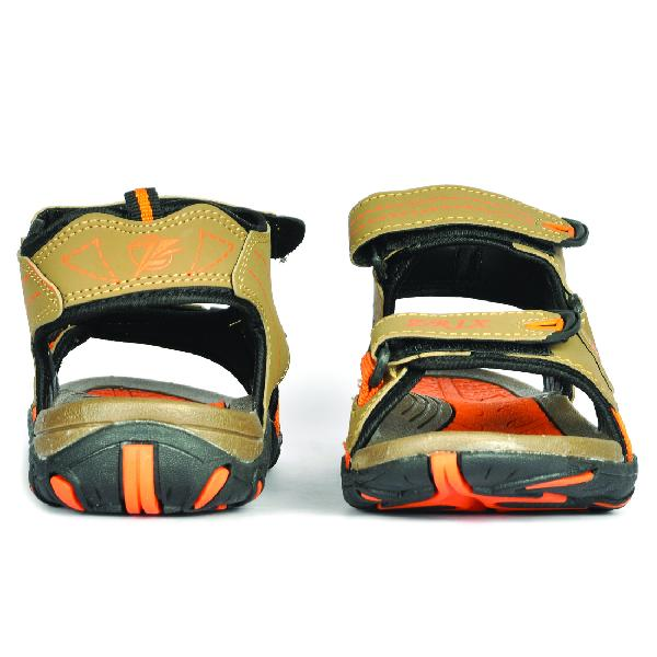 SDZ 102 Mens Mouse & Orange Sandals 01
