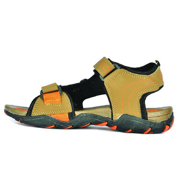 SDZ 102 Mens Mouse & Orange Sandals 02
