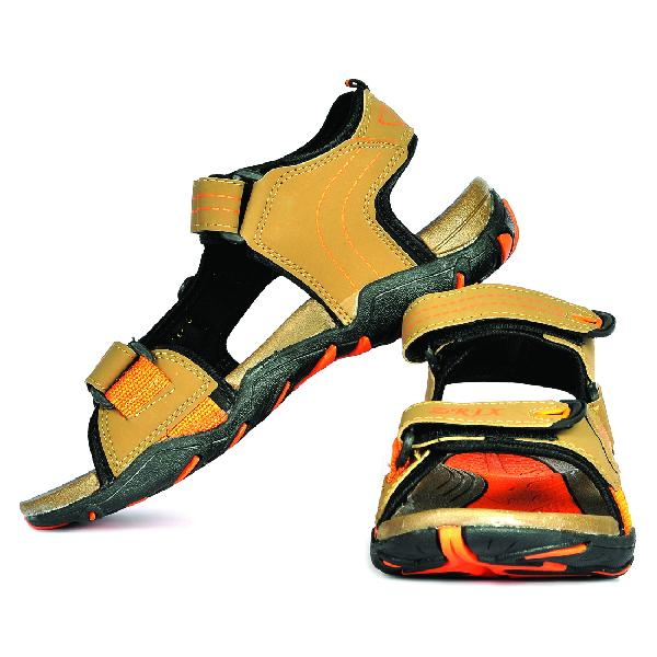 SDZ 102 Mens Mouse & Orange Sandals 03