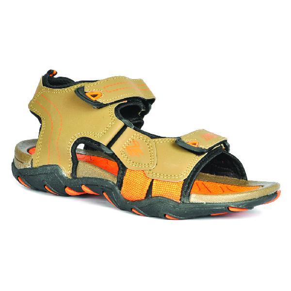 SDZ 102 Mens Mouse & Orange Sandals 05