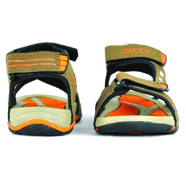 SDZ-106 Mens Mouse & Orange Sandal 06