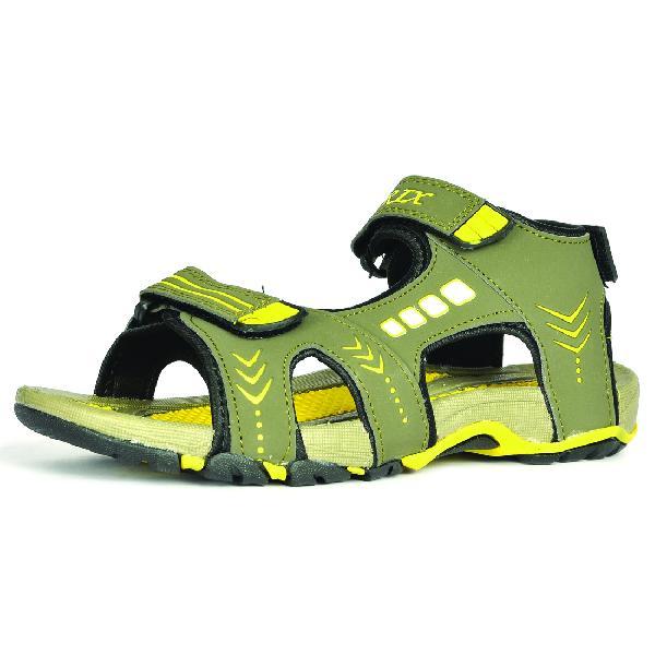 SDZ-106 Mens Mouse & Yellow Sandal 01