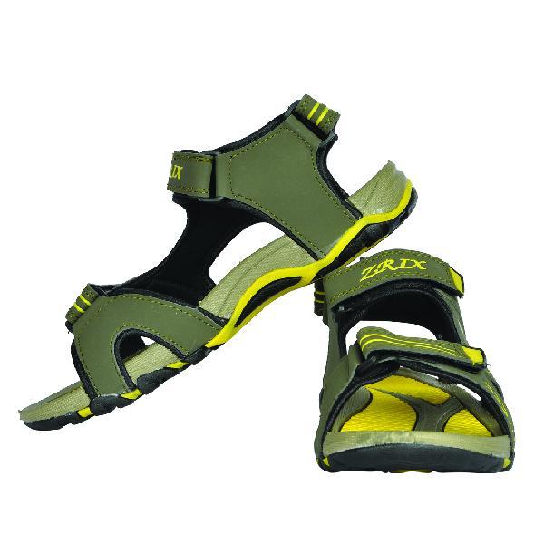 SDZ-106 Mens Mouse & Yellow Sandal 04
