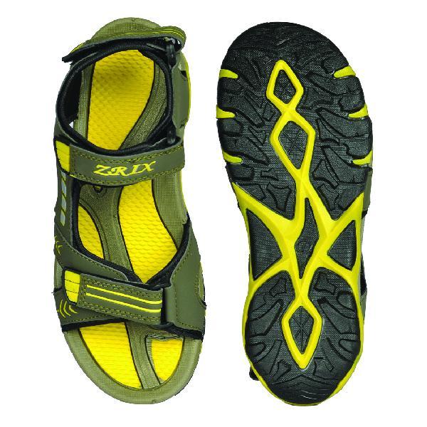 SDZ-106 Mens Mouse & Yellow Sandal 05