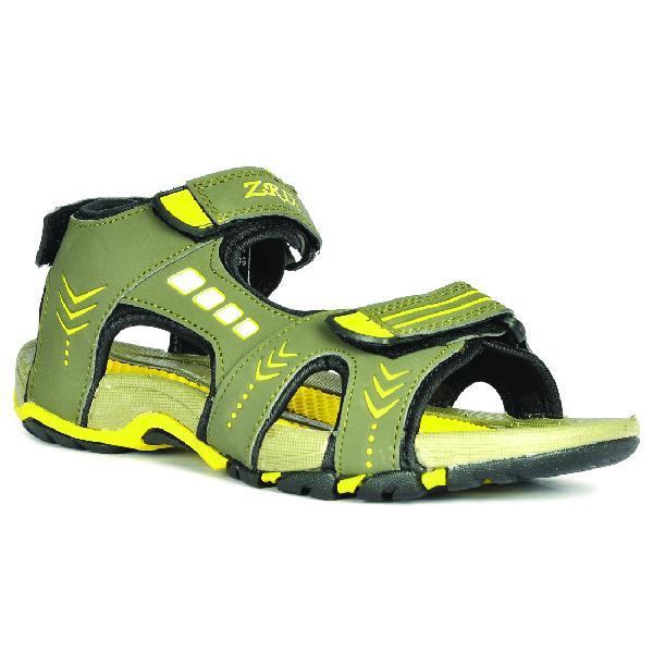 SDZ-106 Mens Mouse & Yellow Sandal 06