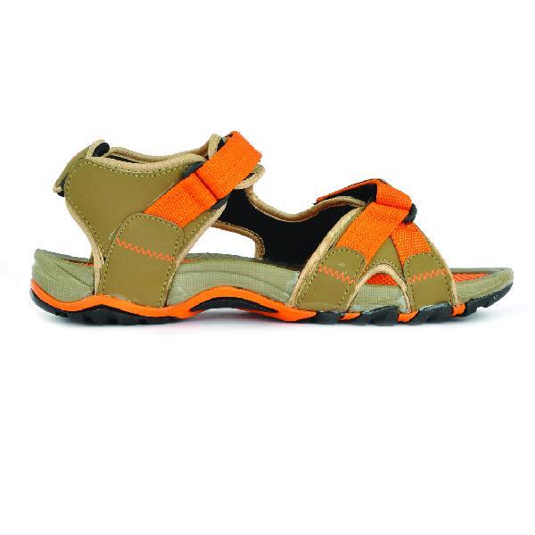 SDZ 115 Mens Mouse & Orange Sandals 03