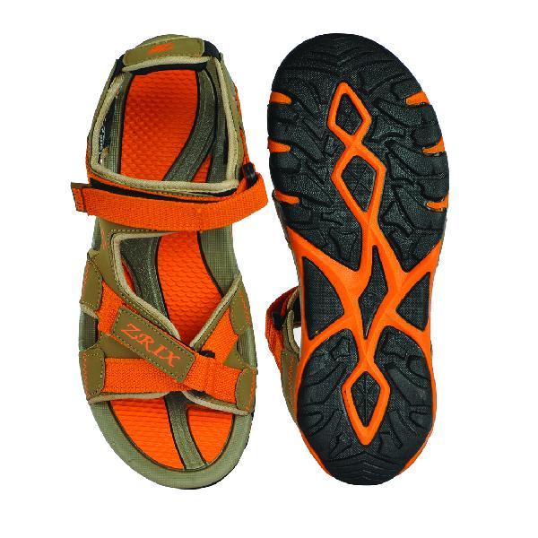 SDZ 115 Mens Mouse & Orange Sandals 05