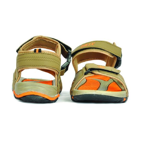 SDZ 116 Mens Mouse & Orange Sandals 01