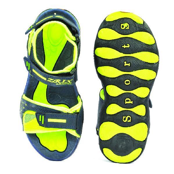 SDZ 119 Mens Mehndi & Yellow Sandals 04