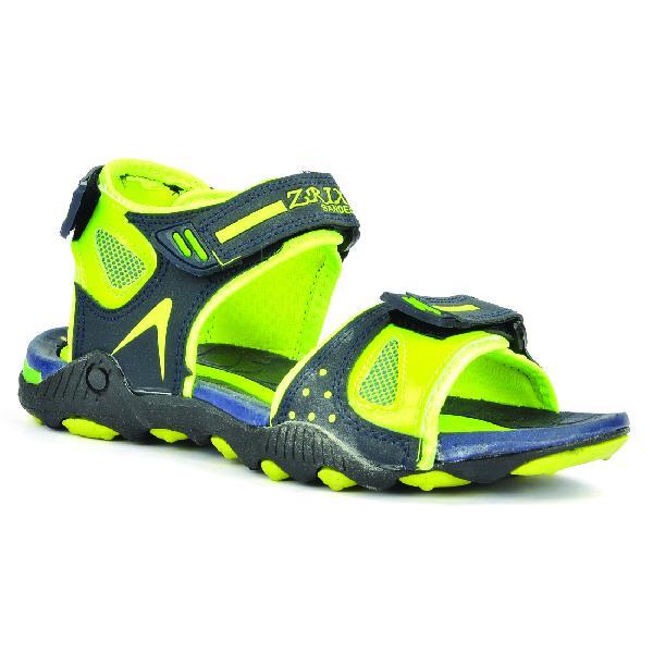SDZ 119 Mens Mehndi & Yellow Sandals 05