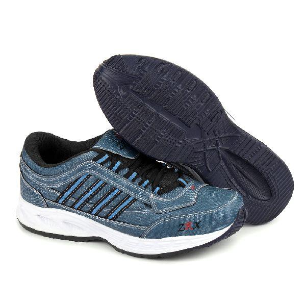 ZX 1 Mens Denim Blue Shoes 01