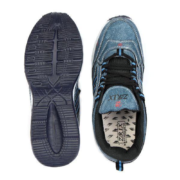 ZX 1 Mens Denim Blue Shoes 04
