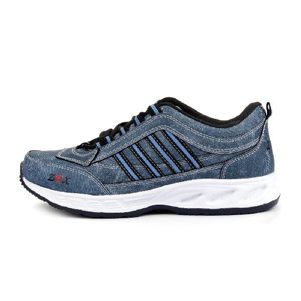 ZX 1 Mens Denim Blue Shoes 05