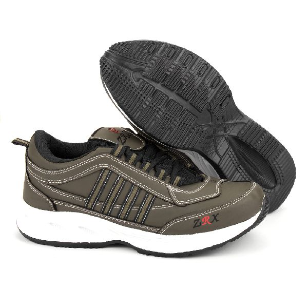 ZX 1 Mens Mahendi & Black Shoes 03