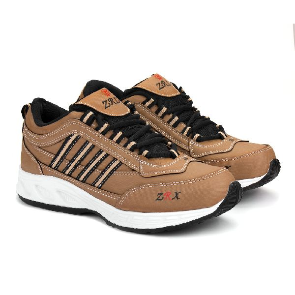 ZX 1 Mens Tan Black Shoes 05