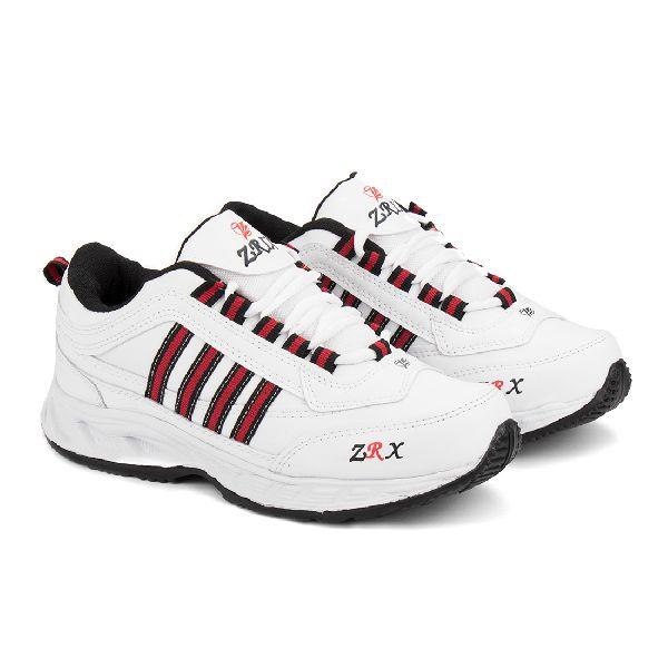 ZX 1 Mens White & Black Shoes 01