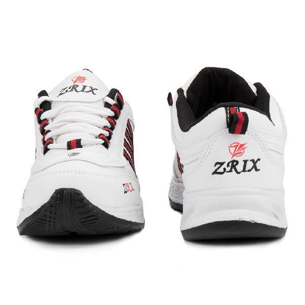 ZX 1 Mens White & Black Shoes 02