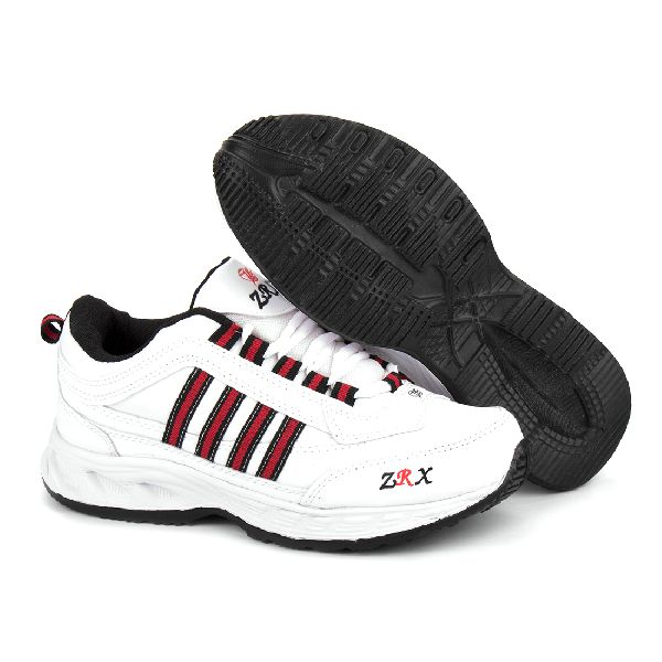 ZX 1 Mens White & Black Shoes 04