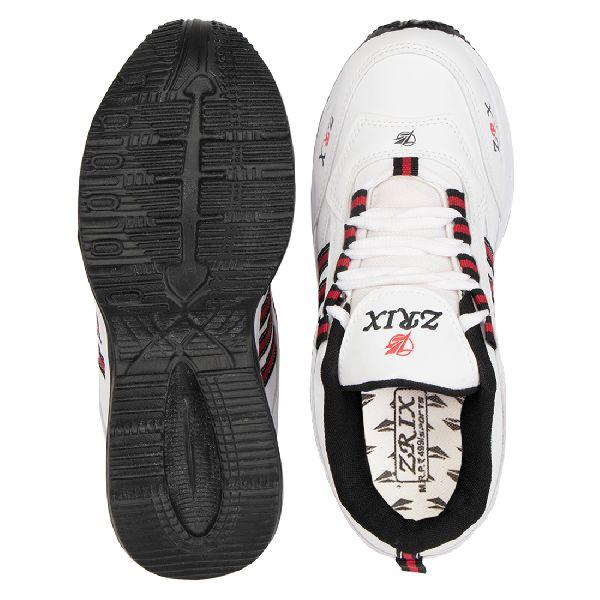 ZX 1 Mens White & Black Shoes 05