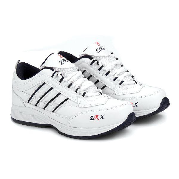 ZX 1 Mens White & Blue ShoeS 01