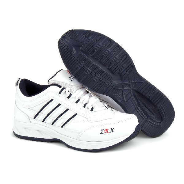 ZX 1 Mens White & Blue ShoeS 03