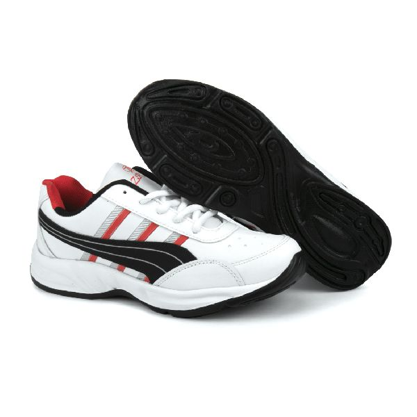 ZX 10 Mens White & Black Shoes 01
