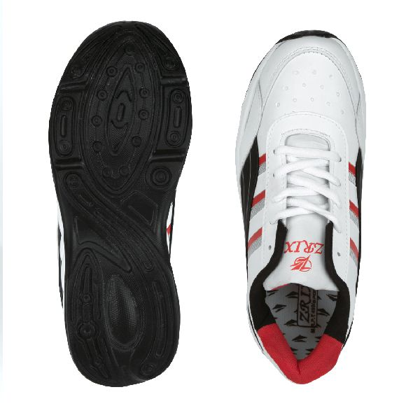 ZX 10 Mens White & Black Shoes 02