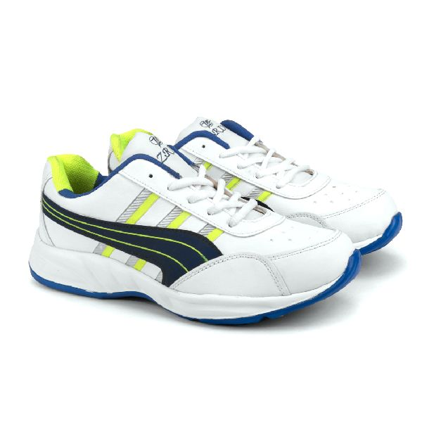 ZX 10 Mens White & Blue Shoes 03