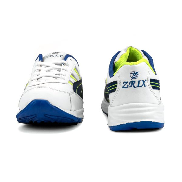ZX 10 Mens White & Blue Shoes 04