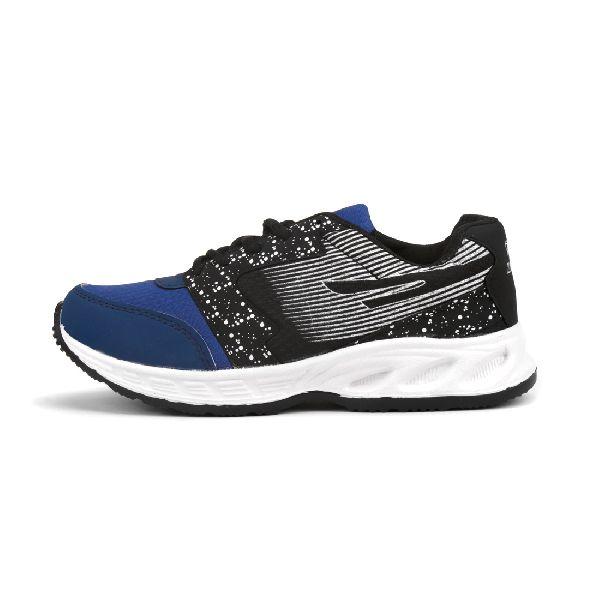 ZX-11 Mens Black & Blue Shoes 03