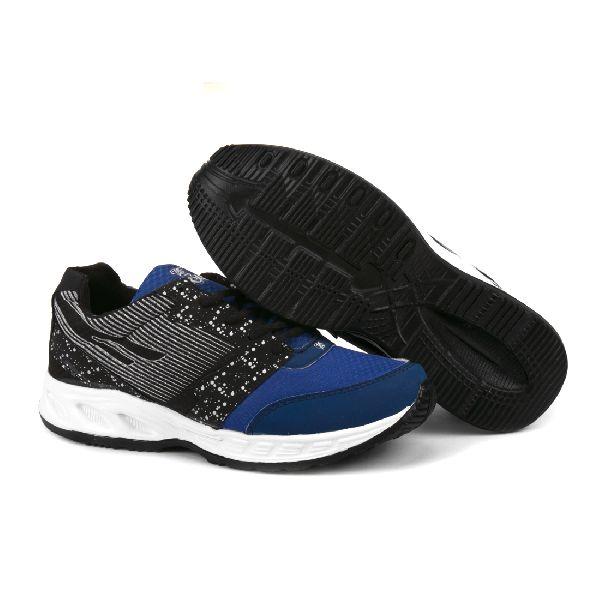 ZX-11 Mens Black & Blue Shoes 04