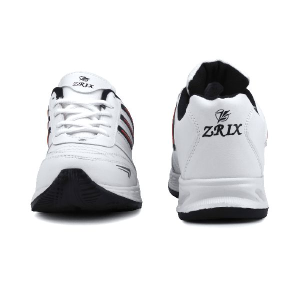 ZX-12 Mens White & Black Shoes 02